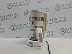 1 DE'LONGHI ICM14011.W NEW ACTIVE LINE DRIP FILTER COFFEE MAKER 0.65L 650W WHITE RRP £39