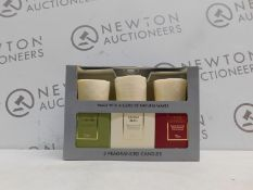 1 BOXED SET OF 3 TORC VARIETY FRAGRANCED CANDLES WITH GIFT BOXES RRP £39.99
