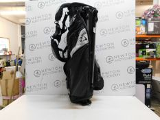 1 CALLAWAY BLACK & GREY GOLF BAG RRP £119.99