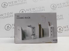 1 BOXED LITEM COMBO RACK WITH 3 DRAWERS PINK RRP £29