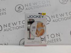 1 BOXED JOCKEY 4PK RETRO STRIPE STRETCHY SOFT COTTON HI-CUTS SIZE S RRP £29.99