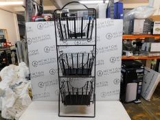 1 3-TIER REMOVABLE METAL BASKETS RRP £39.99