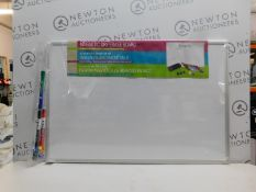 1 MESSAGESTOR WHITE BOARD WITH MARKER AND ACCESSORIES RRP £29.99