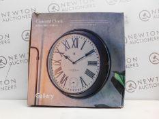1 BOXED GALLERY DIRECT CONCORD CLOCK W52CM X D9CM X H52CM RRP £89.99