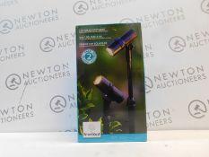 1 BOXED SMARTYARD 2PK LED SOLAR SPOTLIGHT RRP £39.99