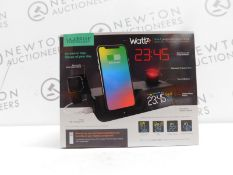 1 LA CROSSE TECHNOLOGY WATTZ 3-IN-1 WIRELESS CHARGING PROJECTION ALARM CLOCK RRP £64.99