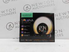 1 BOXED LA CROSSE TECHNOLOGY - SOLUNA LIGHT ALARM CLOCK RRP £49