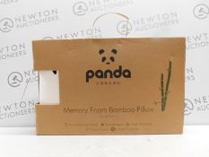 1 BOXED BAMBOO SOFT MEMORY FOAM PANDA PILLOW RRP £49.99