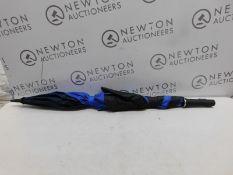 1 SHEDRAIN RAIN & SUN BLUE PROTECTOR UMBRELLA RRP £29.99