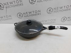 1 CRAFOND INDUCTION 28CM NON STICK FRYING PAN WITH DETACHABLE HANDLE RRP £49