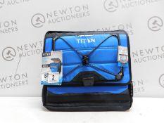 1 TITAN DEEP FREEZE 40 CAN COLLAPSIBLE COOLER RRP £39.99