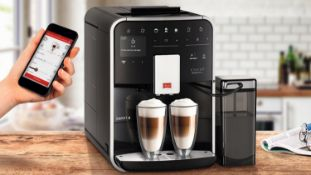 1 BOXED MELITTA F83/0-101 BARISTA T SMART SILVER BEAN TO CUP COFFEE MACHINE RRP £1049.99 (LIKE NEW,