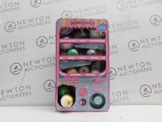 1 BOXED SQUEEZAMALS VENDING MACHINE SQUISHY PLUSH CHARACTERS RRP £49