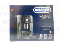 1 BOXED DELONGHI MAGNIFICA S SMART COFFEE MACHINE ECAM 250.33.TB RRP £399
