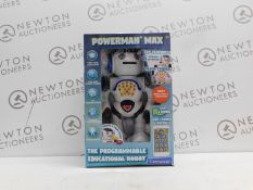 1 BOXED LEXIBOOK POWERMAN EDUCATIONAL REMOTE CONTROL TOY ROBOT RRP £49.99