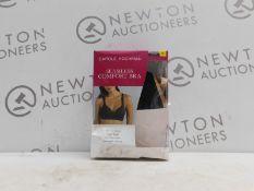 1 BOXED 2 PACK CAROLE HOCHMAN SEAMLESS COMFORT BRA SIZE S RRP £24.99