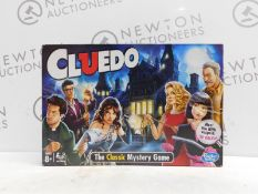 1 BOXED HASBRO GAMING CLUEDO THE CLASSIC MYSTERY BOARD GAME RRP £29