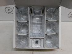 1 ROYAL DOULTON SEASONS DECANTER & TUMBLER GLASSES SET RRP £99