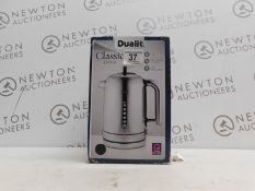 1 BOXED DUALIT POLISHED STAINLESS STEEL CLASSIC KETTLE 1.7L RRP £149.99