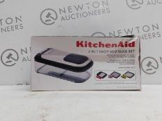 1 BOXED KITCHENAID 3-IN-1 CHOP AND SLICE SET RRP £39.99