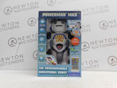 1 BOXED LEXIBOOK POWERMAN EDUCATIONAL REMOTE CONTROL TOY ROBOT RRP £49.99