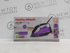1 BOXED MORPHY RICHARDS SATURN STEAM IRON RRP £44.99