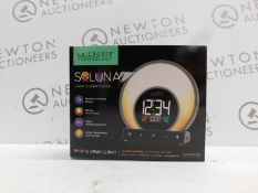 1 BOXED LA CROSSE TECHNOLOGY - SOLUNA LIGHT ALARM CLOCK RRP £49