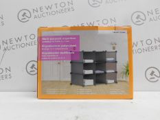 1 BOXED INTERLOCKING MULTI-PURPOSE ORGANISER RRP £44.99