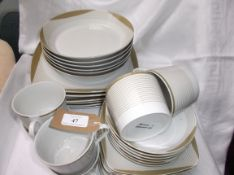 30 piece, 6 place setting tea and dinner service,