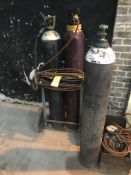 OXY-ACETYLENE GAS CUTTING GEAR AND TROLLEY