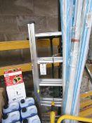 Clarke ALC3-6 Aluminium Combination Ladder.
