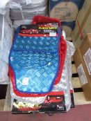 5x Just Essentials set of 4 car mat, colours may vary, new and packaged.