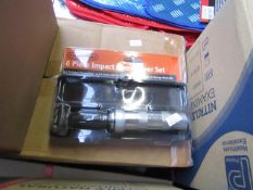 Stag Tools 6 piece impact screwdriver set, new and packaged.