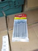 5x Packs of 16 Fischer frame fixings, 8 x 100, new and packaged.