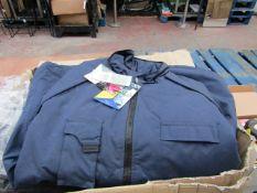 Panoply Delta plus Northwood Blue jacket, new size XXXL