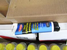 Box of 5x Tubes of Car Plan Blue colour scratch remover, new