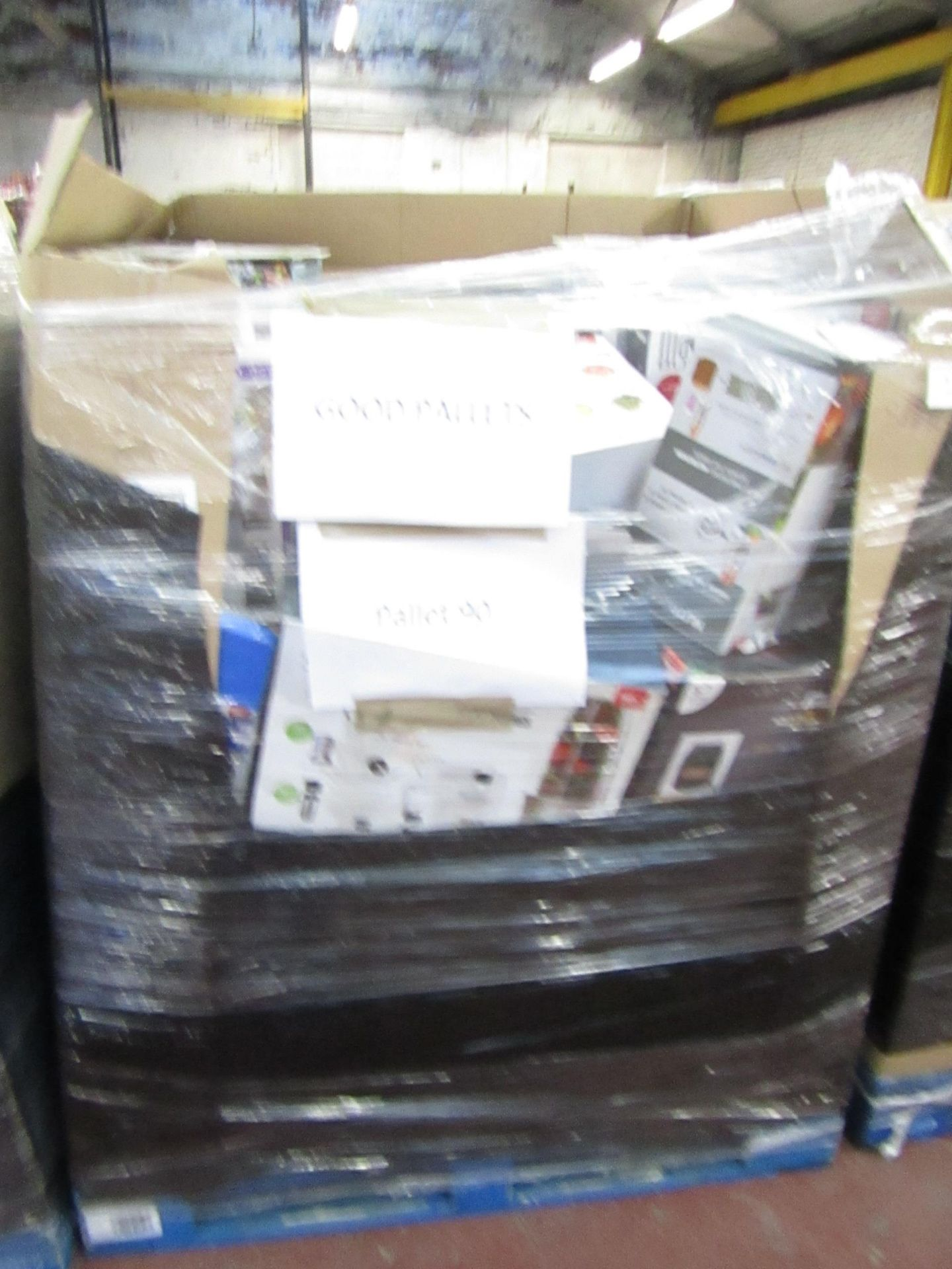 Lot 3 - |APPROX 36X | THE PALLET CONTAINS NUTRI BULLETS, AIR HAWKS, AIR FRYER XL'S, RED COPPER CHEFS, AND
