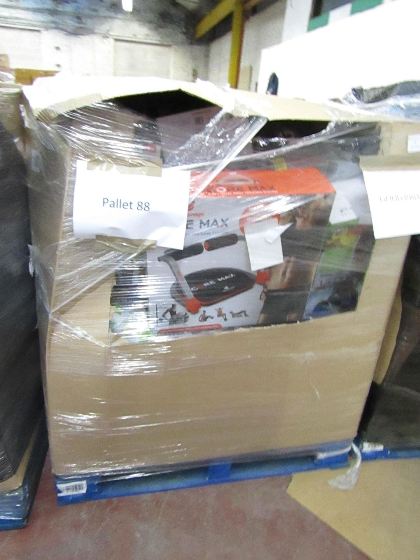 Lot 7 - |APPROX 58X | THE PALLET CONTAINS NUTRI BULLETS, AIR HAWKS, AIR FRYER XL'S, RED COPPER CHEFS, X