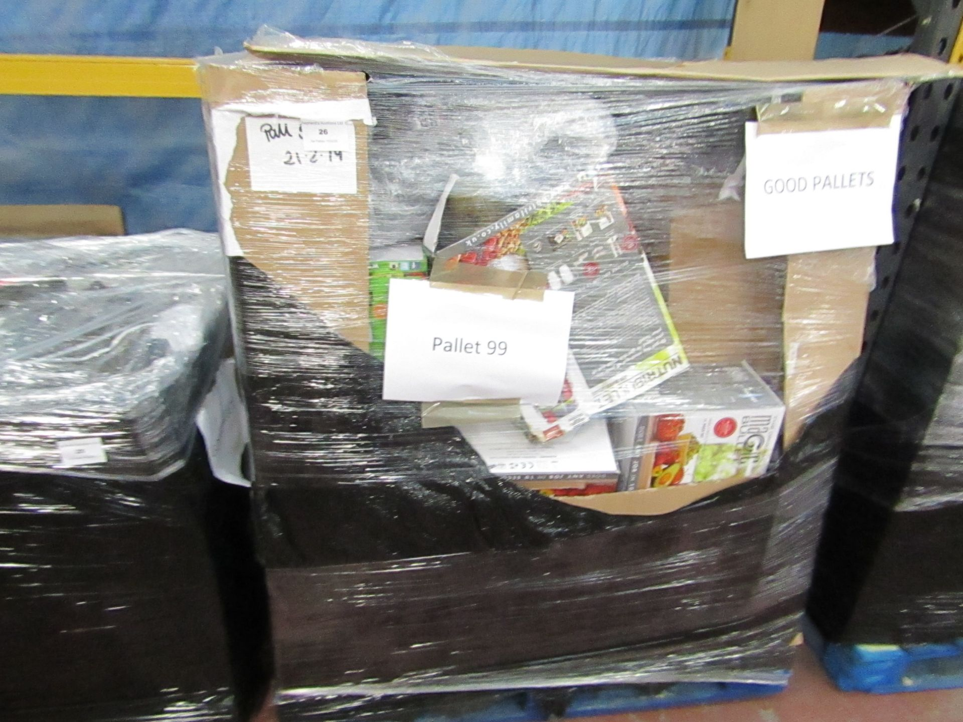 Lot 26 - | APPROX 42X | THE PALLET CONTAINS NUTRI BULLET, AIR FRYER XL'S, AIR HAWK AND MORE | BOXED AND