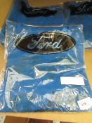 3 x Ford Mens Motor Racing Blue T Shirt size Mnew & packaged