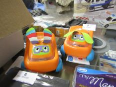 2x Fisher Price Bright beats Buggies. New with tags