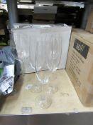2 x Wine Glasses & 3 x Champagne Flutes. All Unused & Boxed