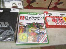 XBOX One Flashback Classics, new and sealed.