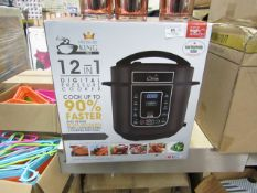 | 1X | PRESSURE KING PRO 12 IN 1 DIGITAL PRESSURE AND MULTI COOKER | UNTESTED AND BOXED | NO