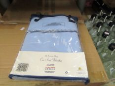 2 x Car Seat blankets. Brand New & Packaged