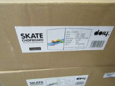 4 x Skate Chopping Boards. New & Boxed