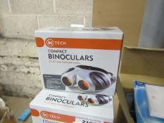 IN Tech's Compact Binoculars21mmObjectiveRuby Coloured Lenses8 x 21 Compact BinocularsRRP £31.