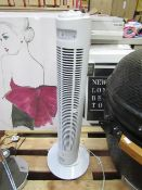Lectro freestanding tower fan, untested.