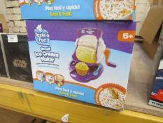 Taste N Fun Small Ice Cream Maker. New & Boxed