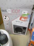 Rock Jam Go Portable Bluetooth Speaker. Untested